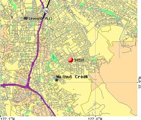 walnut california map zip code walnut creek california map