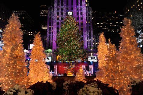 tree nyc lighting in new york tree in new york