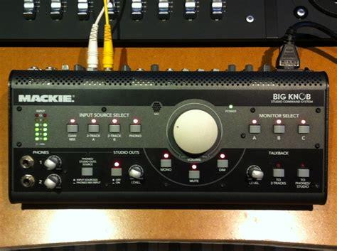 mackie big knob image 718338 audiofanzine
