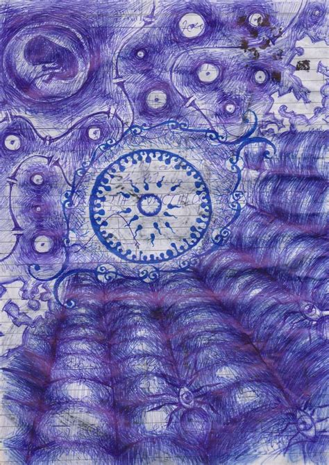 ballpoint pen doodles intricate ballpoint pen doodles out of