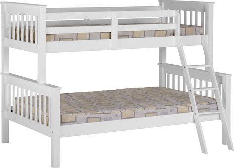 Sleeper Bunk Beds White by Seconique Plc Product Info