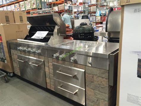 Distressed Island Kitchen Costco 1031595 Kitchenaid 9 Burner Island Grill Cover