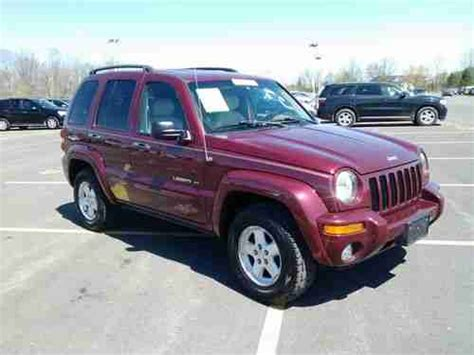 2003 jeep liberty limited find used 2003 jeep liberty limited edition 1 owner