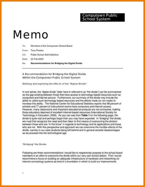 Memo Writing Guidelines 6 Memo Format Sle Assistant Cover Letter