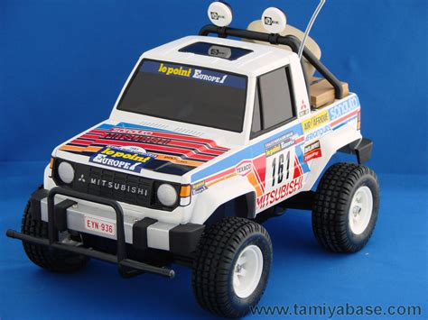 Tamiya Mitsubishi Pajero 58044 tamiya model database tamiyabase