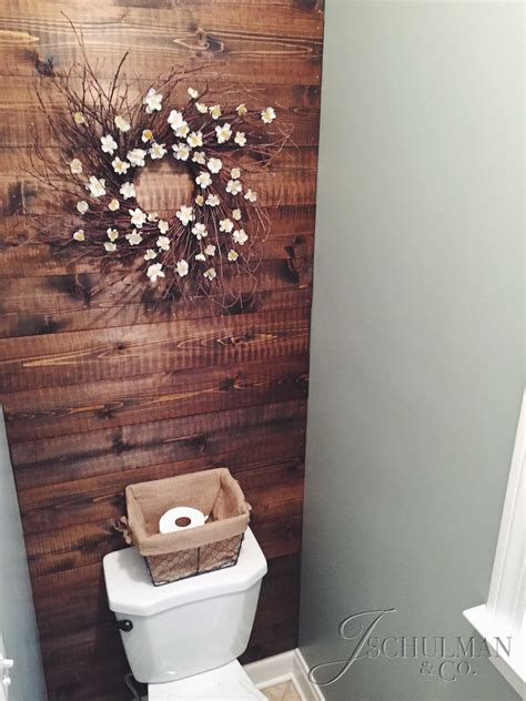 wood accent wall bathroom diy wood panel bathroom accent wall j schulman co