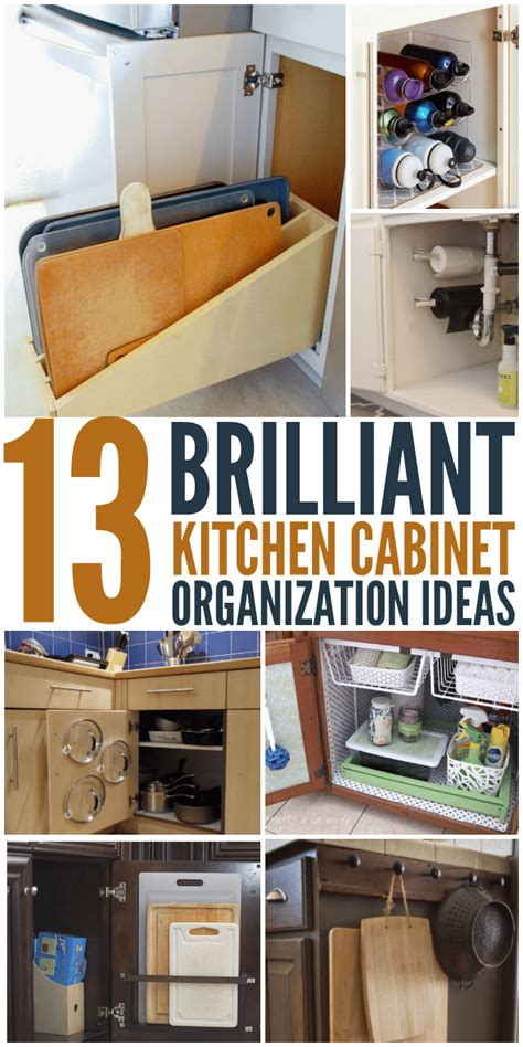 13 Brilliant Kitchen Cabinet Organization Ideas Glue Kitchen Cabinet Organization Ideas