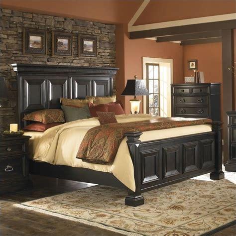 King Panel Bedroom Set by Pulaski Brookfield 2pc California King Panel Bed Set In