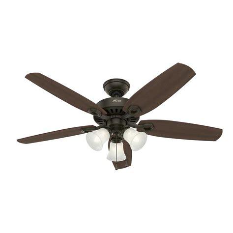 downrod ceiling fan shop builder plus 52 in bronze indoor downrod