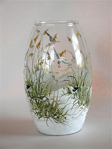 Painting On Vase by 1389 Best Images About Glass Painting Ideas On