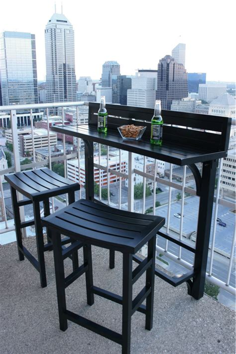 small outdoor pub table balcony chair and table design ideas for outdoors