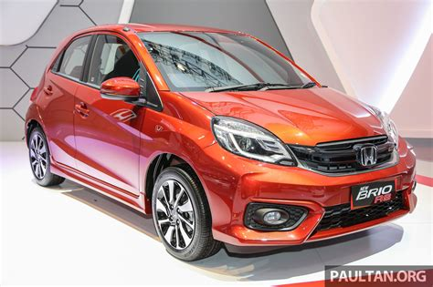 honda brio club indonesia honda brio rs front three quarter launched in indonesia