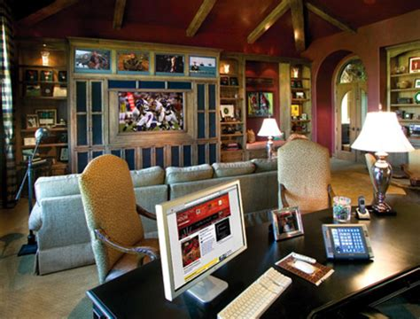 home technology ideas pictures geek builds ultimate home office good for more