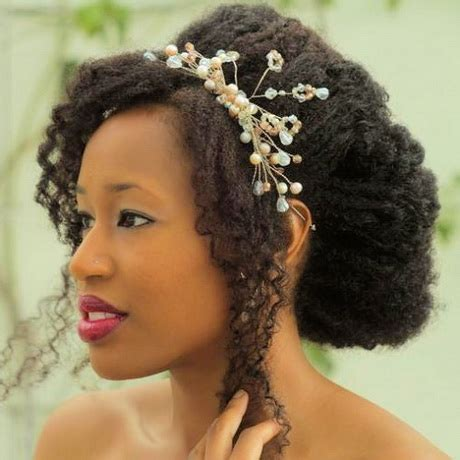 Wedding Hairstyles Afro by Afro Bridal Hairstyles