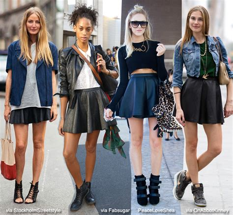 Blazer Black Chic Keren Sk 40 How To Wear Black Skater Skirt Blue Is In Fashion This Year