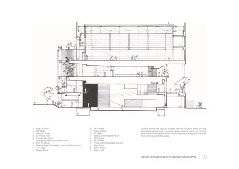 Drawing Plan gallery of ping shan tin shui wai leisure and cultural