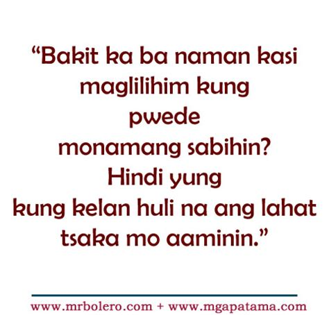 quotes about love tagalog patama patama tagalog quotes move on quotes