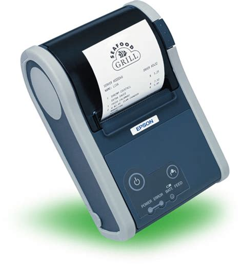 Printer Portable Epson epson announces their new mobile pos printer with bluetooth ios support barcoding