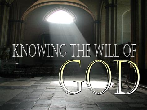as the gods will knowing the will of god on vimeo