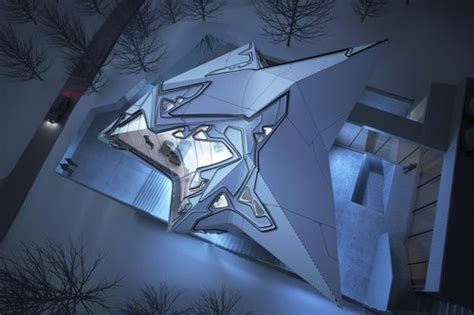 futuristic home design concepts crystal like lo monaco house concept futuristic news
