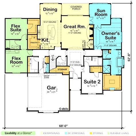 houses with master bedroom on first floor first floor master house plans farmhouse with and 1st luxamcc
