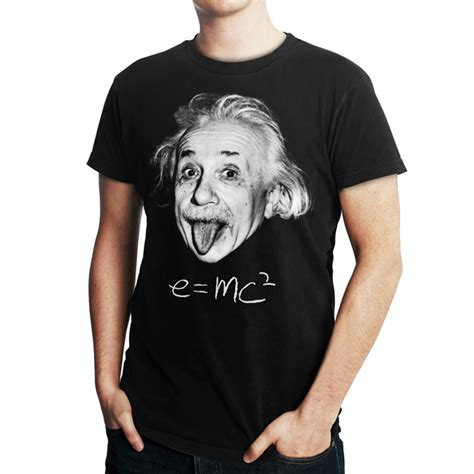 Albert Einstein Tshirt albert einstein t shirt physics s m l xl 3xl e mc 178