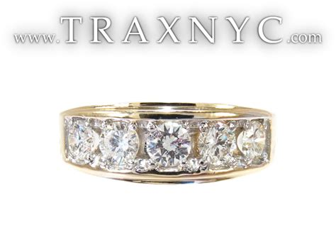 Mens Diamond Wedding Rings Yellow Gold Trends For Yellow