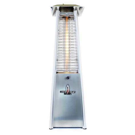 Patio Heaters Tabletop Shop Lava Heat Italia 27000 Btu Stainless Steel Tabletop Liquid Propane Patio Heater At Lowes
