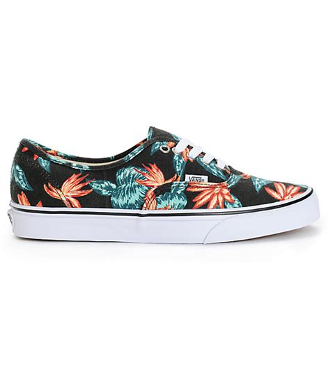 Vans Authentic Vintage Aloha vans authentic vintage aloha skate shoes zumiez