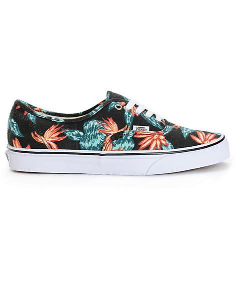 vans authentic vintage aloha skate shoes zumiez