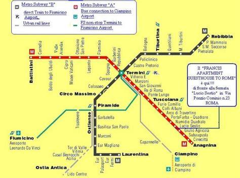 orari di roma metropolitana di roma orari fermate mappa