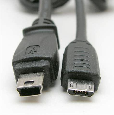 mini usb la navaja afilada diferenciar entre un cable mini usb y