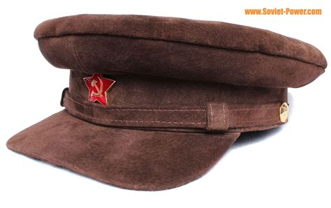 suede hat special leather suede hat lenin