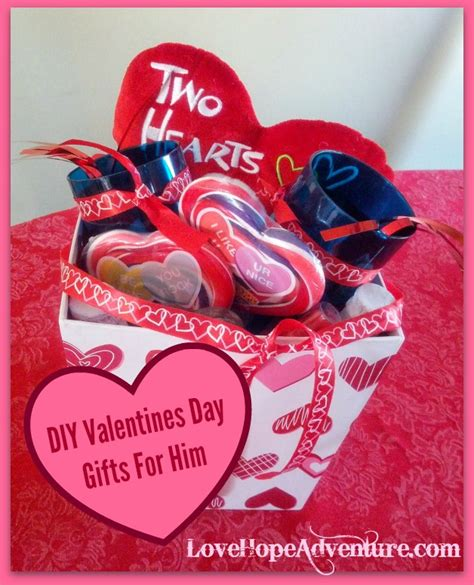valentines day gifts for him diy valentines day gifts for him love hope adventure