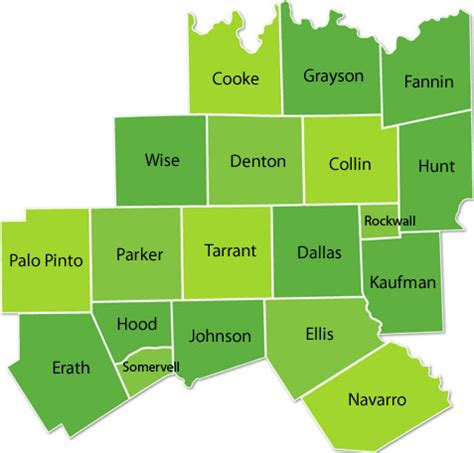 north texas counties served by paloma home health agency