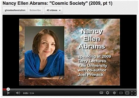 nancy ellen abrams on a god that scientists and what is the great story