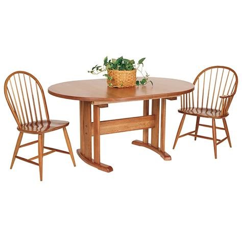 dining room tables oval oval trestle table 1 vermont woods studios