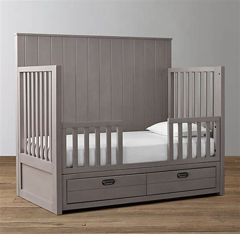 When To Convert From Crib To Toddler Bed Storage Conversion Crib Toddler Bed Kit