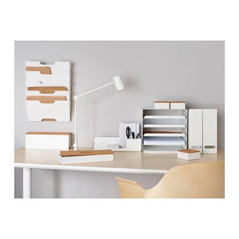 desk organizer ikea kvissle letter tray white ikea