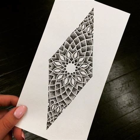 Shape Pattern Tattoo | 35 spiritual geometric tattoo designs shapes patterns