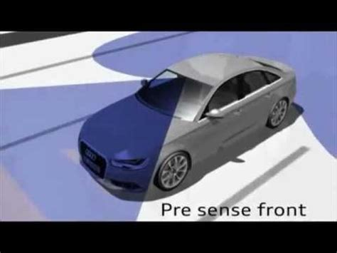 Audi Pre Sense Plus by Crash Test Auto Audi Pre Sense Front Plus Youtube
