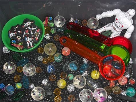 space sensory space sensory bin space pinterest sensory bins