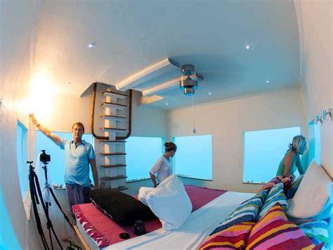 underwater hotel room photoshoot of africa s underwater hotel business insider