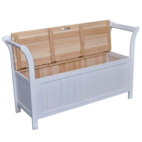 comfortable bench white white comfortable wooden bench with storage space