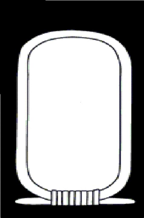 cartouche template for