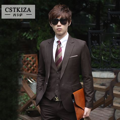 Jaket Pria Jaket Motorjaket Formal velvet black jacket suits suits winter two styles groom groomsmen tuxedos peak lapel