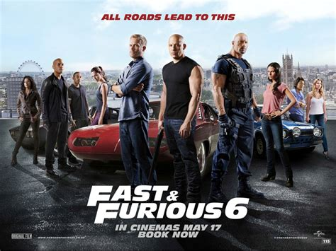 film fast and furious 6 gratis new fast and furious 6 poster filmwerk