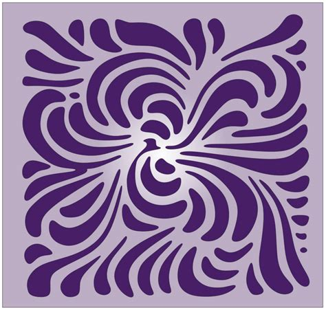 pattern in artwork art nouveau scroll saw pattern 2