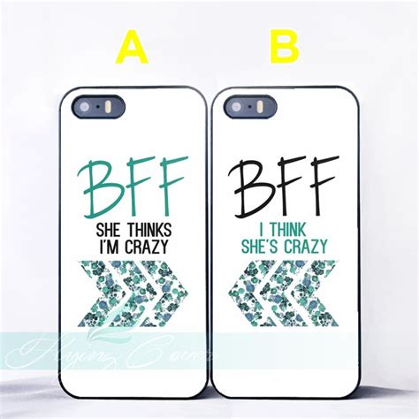 capa floral  friend bff quotes couple cases  iphone         se