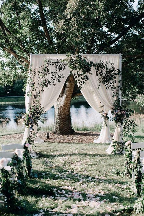 Wedding Aisle Garden by 25 Brilliant Garden Wedding Decoration Ideas For 2018